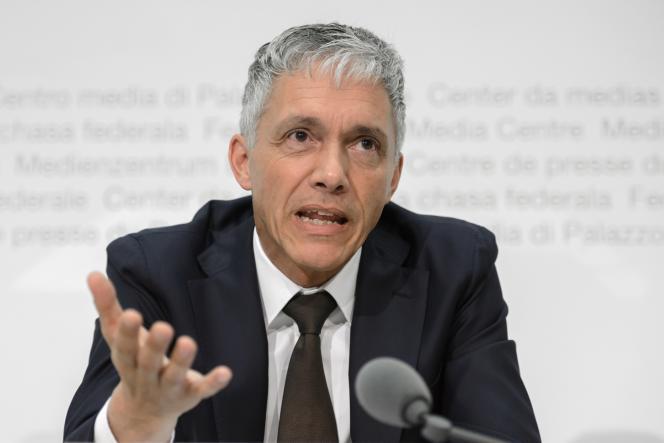 Michael Lauber, le procureur fédéral suisse, en juillet 2015.