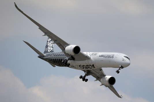 Airbus A350. L'aéronautique fait partie des domaines où la France excelle. Des MBA valorise le savoir-faire de ce secteur.