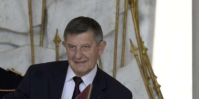 Jean-Pierre Jouyet le 17 juin à l'Elysée.