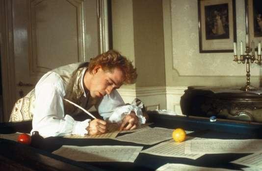Inspiré d'une nouvelle de Pouchkine,« Amadeus» raconte la jalousie du musicien Salieri face au génial Mozart, interprété par Tom Hulce.