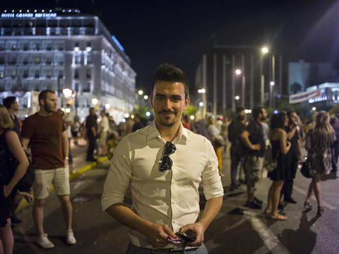 Panos, 31 ans.