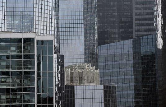 Des immeubles dans le quartier d'affaires dela Défense.