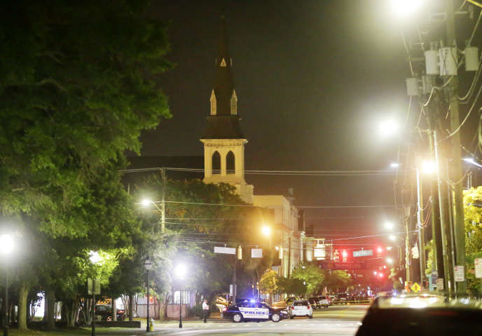 A Charleston, le 18 juin.