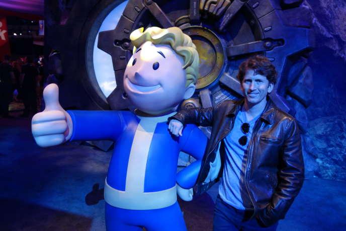 Todd Howard, directeur de Bethesda game, le 18 juin 2015 à l'E3.