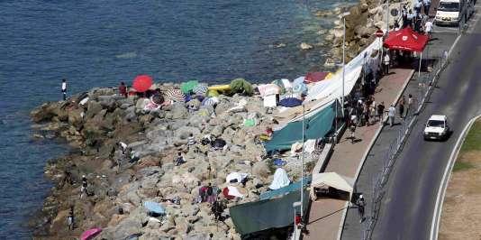 Six ONG ont mené une nouvelle mission d'observation du 24 au 26 juin, à la frontière franco-italienne.