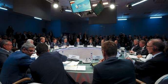 Le Forum économique international de Saint-Pétersbourg, principal rendez-vous des milieux d'affaires russes, a ouvert ses portes jeudi 18 juin.