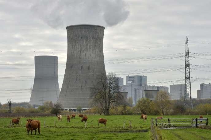 La centrale thermique RWE de Hamm en Allemagne, le 14 novembre 2013.