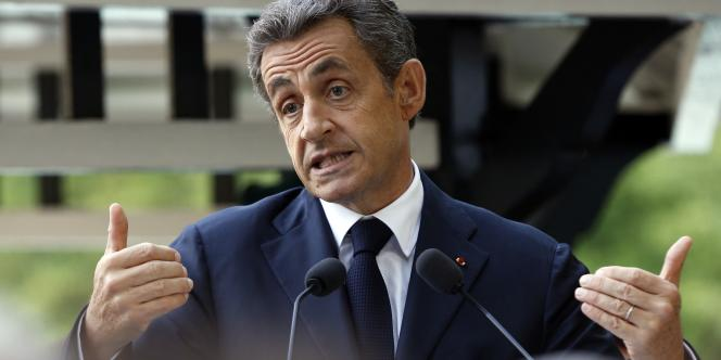 Nicolas Sarkozy le 18 juin 2015.