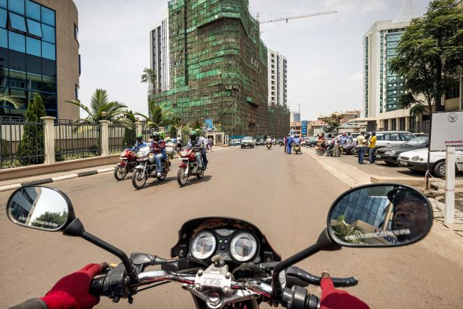 A Kigali, la capitale du Rwanda.