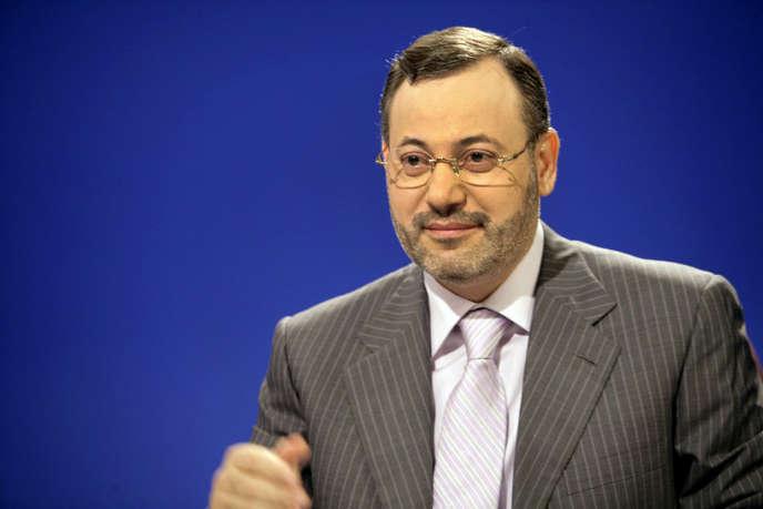 Le journaliste de la chaîne Al-Jazira Ahmed Mansour.