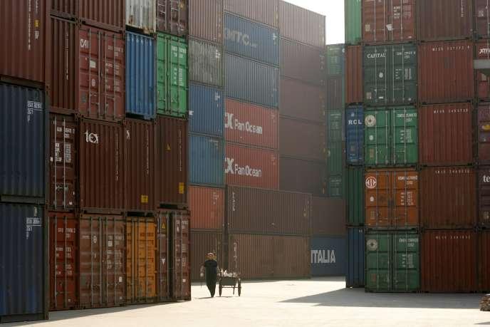 Dans le port de Shanghai (Chine), en 2013.