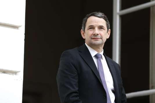 Thierry Mandon, secrétaire d'Etat à l'enseignement supérieur et à la recherche. AFP PHOTO / THOMAS SAMSON