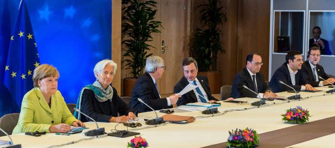 Pour « finir » le travail, si tout se passe bien, il faudra donc un autre Eurogroupe, mercredi 24 juin au soir, puis un feu vert final au Conseil européen des 25 et 26 juin, à Bruxelles, a annoncé Donald Tusk, le président du Conseil européen.