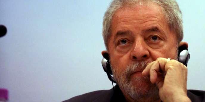 Luiz Inacio Lula da Silva, ancien président du Brésil, le 22 juin.