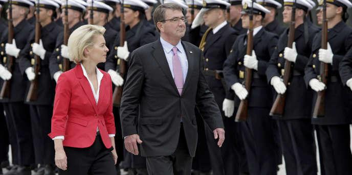 Lundi 22 juin, le ministre de la défense américain, Ashton Carter, et son homologue allemande, Ursula von der Leyen, se sont rencontrés sur fond de crise persistante avec la Russie.