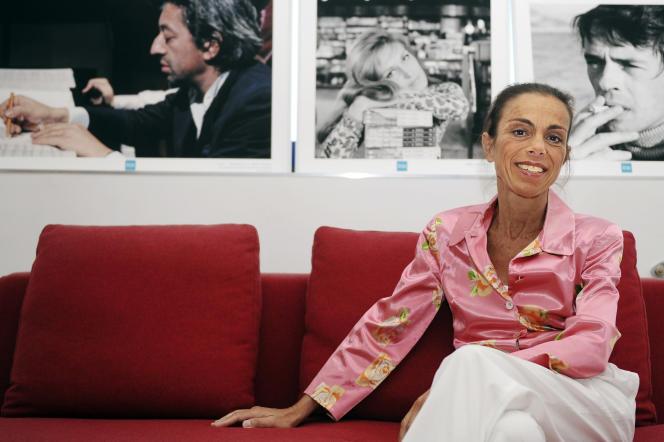 Agnès Saal, ancienne présidente de l'INA, le 31 juillet 2014.