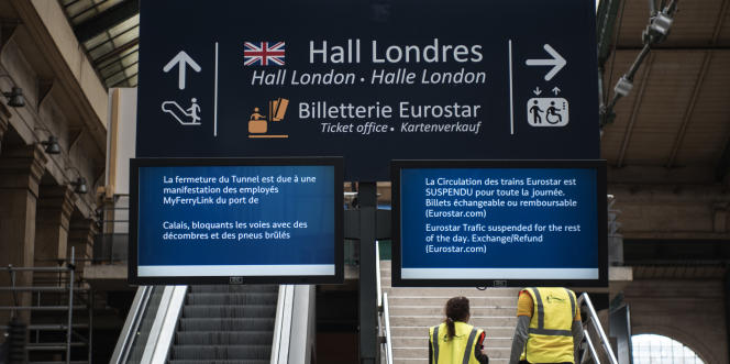 French - as well as all EU citizens - must now present their passport to travel to the United Kingdom