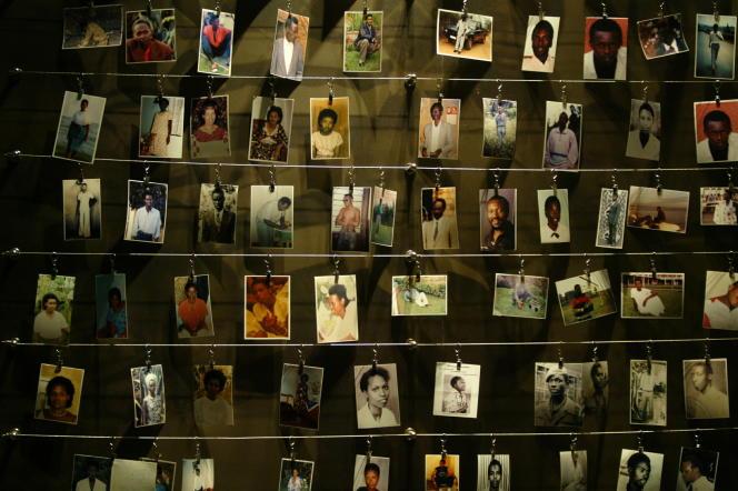 Centre du mémorial de Kigali à Gisozi.