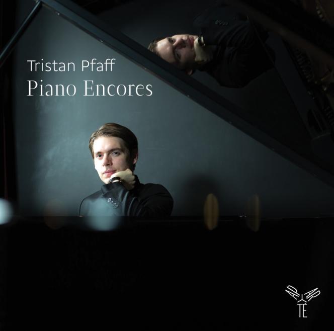 Pochette de l'album « Piano Encores », par le pianiste Tristan Pfaff.