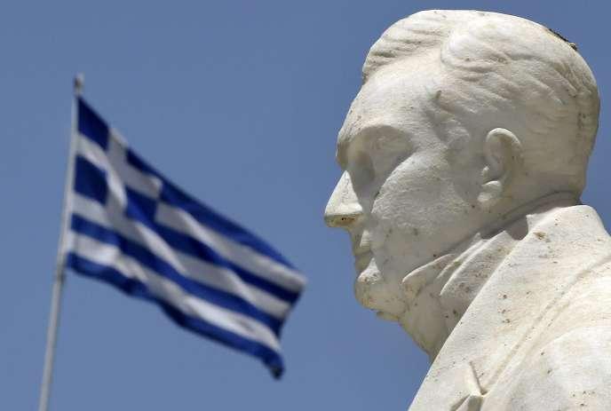 A Athènes, le 17 juin.