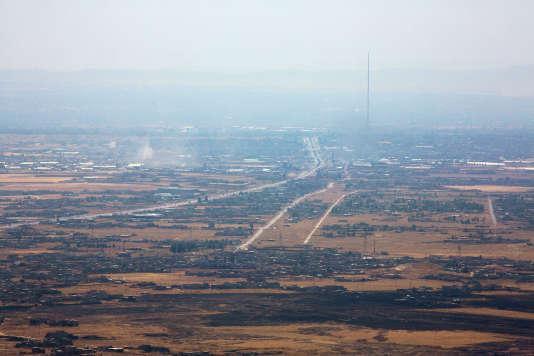 La ville de Mossoul, en Irak.