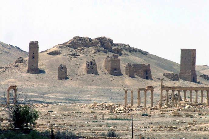Le groupe Etat islamique s'est emparé de la cité antique de Palmyre le 21 mai.