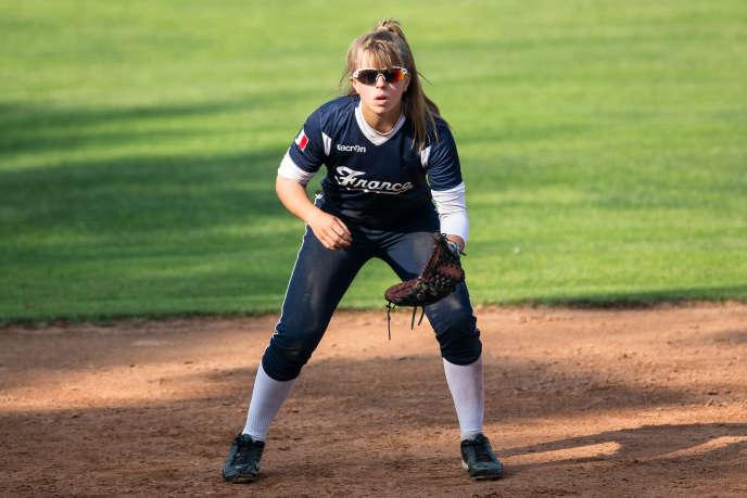Les recruteurs américains s'intéressent de près à Mélissa Mayeux, 16 ans. La jeune Française participera au MLB European Elite Camp 2015, du 3 au 20 août, aux Pays-Bas.