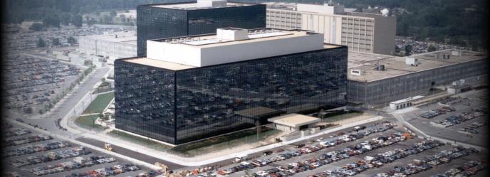 Le siège de la NSA.