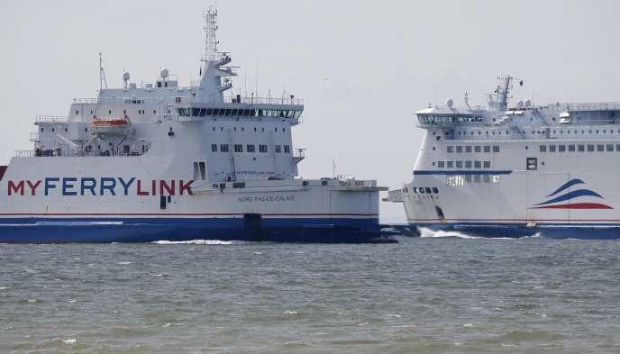 La SCOP SeaFrance, qui exploite les ferries pour le compte d'Eurotunnel sous la marque MyFerryLink, emploie aujourd'hui 577 personnes.