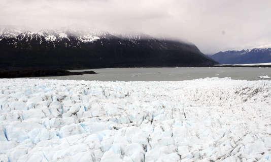 Un glacier près d'Anchorage, en Alaska.