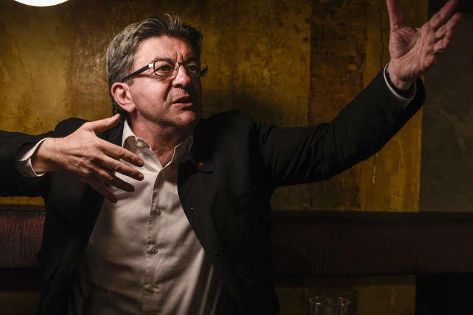 Jean-Luc Mélenchon à Paris, le 23 juin.