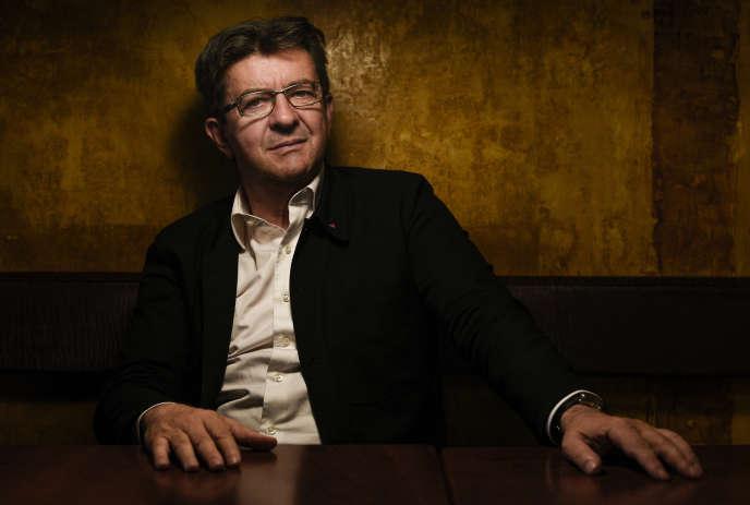 Jean-Luc Mélenchon, eurodéputé du Parti de gauche, le 23 juin.