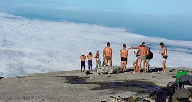 Sur le mont Kinabalu. Photo publiée sur la page Facebook de Emil Kaminski.