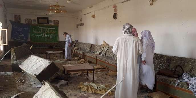 Une maison détruite après l'attentat-suicide  dans le secteur de Baladrouz, dans la province de Diyala, dans le nord-est de Bagdad, le 24 juin 2015.