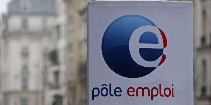 Une agence Pôle emploi, à Paris, en février.