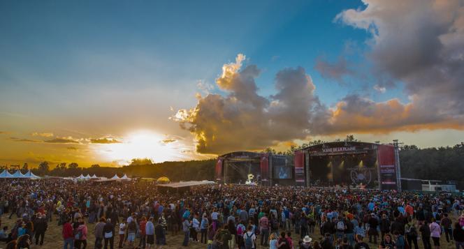 Garorock, le festival se déroule, cette année, du 26 au 28 juin. © La Clef / Teddy Morellec