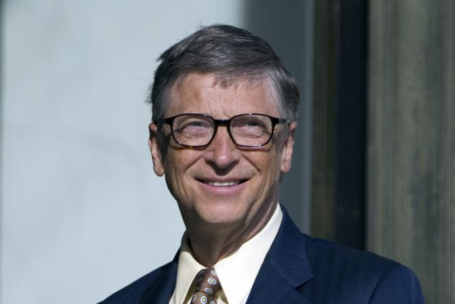 Bill Gates, le 25 juin 2015, à Paris.