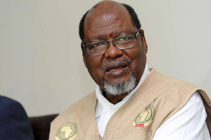 Joaquim Chissano, ancien président du Mozambique, en 2014.