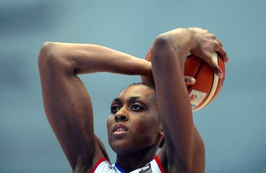 Sandrine Grudasera l'une des pièces maîtresses de l'équipe aux Jeux olympiques.