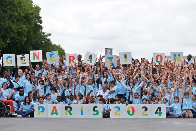 La candidature de Paris pour les Jeux olympiques 2024 a été officialisée en juin.