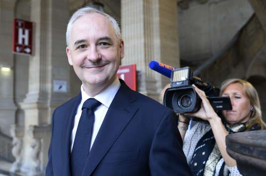 Francois Pérol, le président du groupe bancaire BPCE, à Paris en juin.