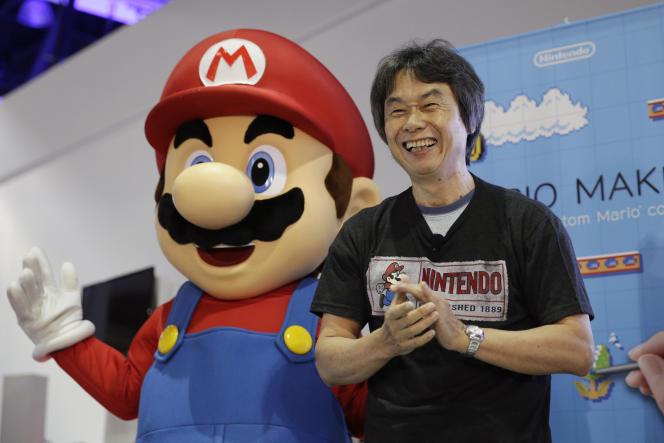 Shigeru Miyamoto, pencipta Mario and the saga