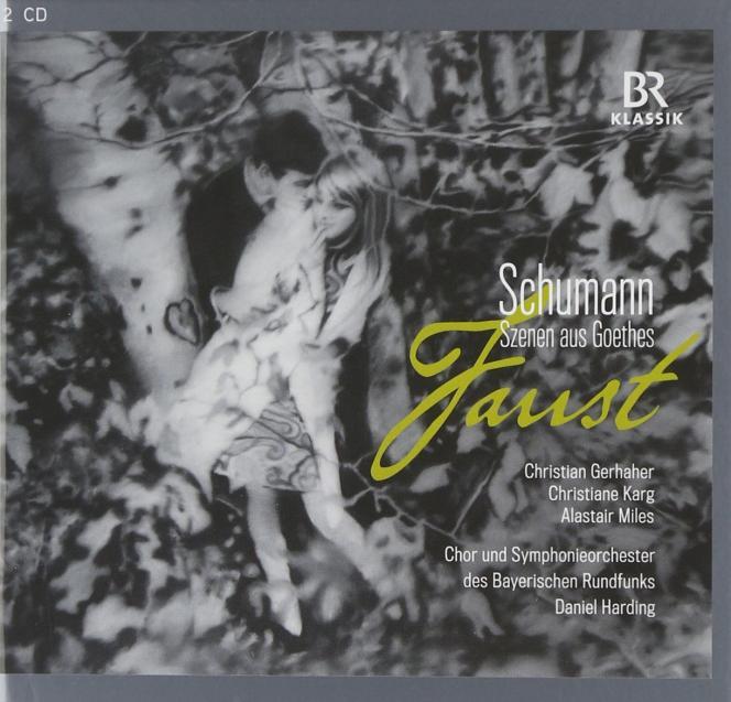 Pochette de l'album « Scènes du Faust de Goethe », de Robert Schumann.