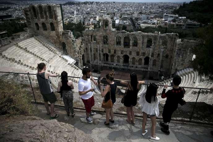 A Athènes, le 1er juin.