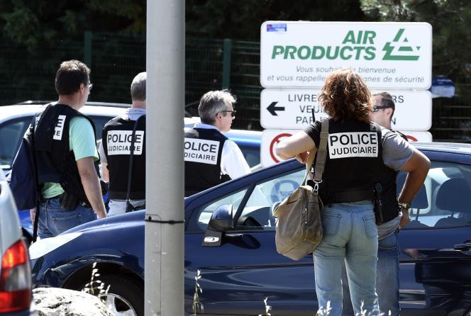 Le site d'Air Products en Isère est classé Seveso « seuil bas ».