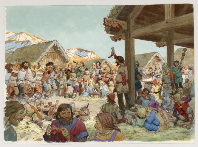 Pierre Joubert, La Vie privée des Hommes, Au temps des Vikings, Hachette, 1982