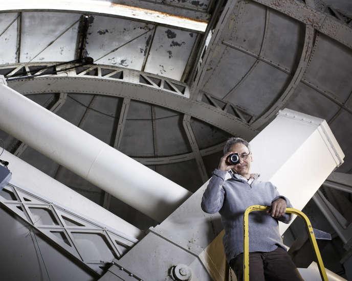Bruno Sicardy  dans l'observatoire de Meudon le 29 mai 2015.