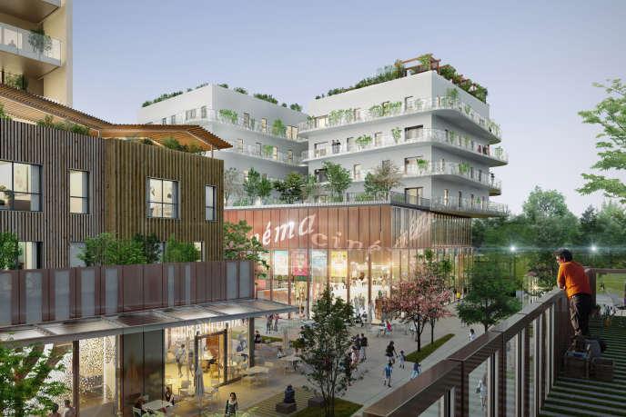 Le nouvel ensemble urbain s'érigera sur des terrains appartenant à la ville, transférés à la Sadev 94, l'aménageur, qui se chargera de les céder au promoteur Altarea Cogedim.
