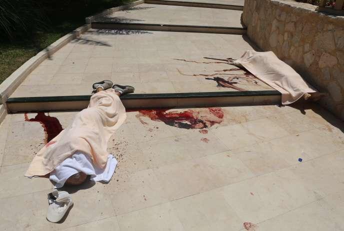 Victimes de l'attaque terroriste du 26 juin, à  El-Kantaoui.