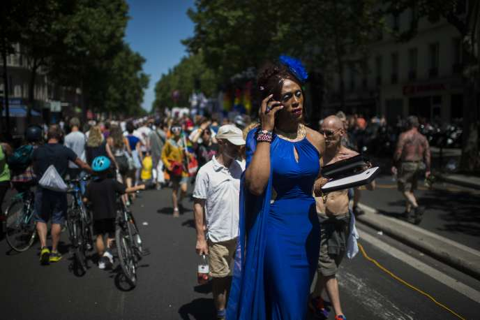 Gay Pride, Paris, le 27 juin 2015.